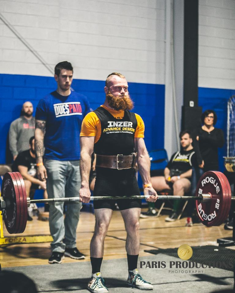 Powerlifting section picture